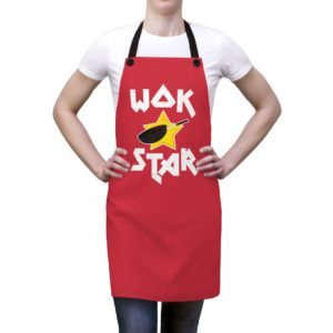 Wok Star Apron – Red