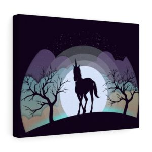 Into the Wild: Unicorn – Canvas Print