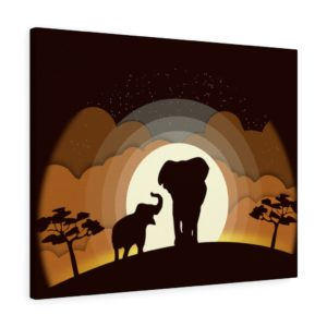 Into the Wild: Elephants – Canvas